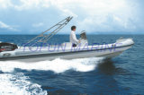 Barco inflável do reforço de Hypalon (RIB760)