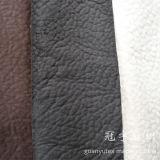 Tissu de suède de polyester de Microfiber gravé en relief pour le sofa