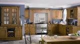 Nuevo diseño de antigüedades de madera Armario de Cocina #269
