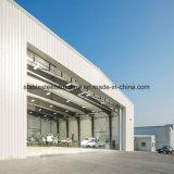 Hangar structuraux en acier fabriqués par des capacités pour le Hangar