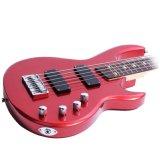 Guitare basse électrique de 5 chaînes de caractères pour des ventes en gros