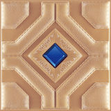 3D PUの現代室内装飾のための革壁パネル1051-3年