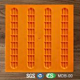 Azulejo táctil de goma de goma de los azulejos de suelo de la gimnasia para las persianas