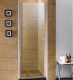 Axe d'arbre de rotation arrêtant la porte ouverte de douche de porte de pivot