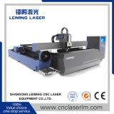 Máquina de estaca de aço Lm3015m3 do laser da fibra para as tubulações do metal