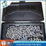 l'iso di 3.0969mm certifica la sfera dell'acciaio inossidabile per il cuscinetto AISI304