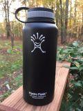 Botella de 40 oz colorido doble pared con aislamiento de vacío de acero inoxidable Agua Hydro Frasco