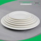 Dîner de gros de la plaque en céramique en porcelaine assiette à dîner Restaurant, hôtel assiette à dîner