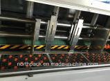 型抜き機械に細長い穴をつける自動flexoの印刷を入れるLeadedge