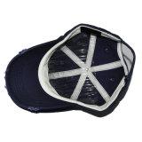 Tampão para fora bordado desgastado afligido do chapéu de basebol