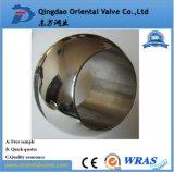 Precios baratos de acero inoxidable de la API de piezas de la válvula de bola (personalizado)