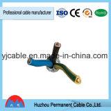 Fábrica para el cable aislado y forrado del PVC del conductor sólido de la venta de BVV