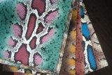 PU e PVC calçado de couro para impressão