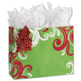 Мешки подарка бумажных мешков Kraft хозяйственных сумок покупателей фантазии бумажные бумажные