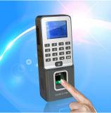 Биометрический считыватель отпечатков пальцев время посещаемости с контроллером доступа (F09)