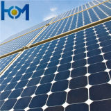 Стекло покрытия Ar портативной Mono панели энергии 100W Soalr стеклянное