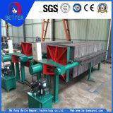 Placa da alta qualidade e tipo filtro do frame para o tratamento da água/papel/ouro/cobre/fibra química
