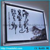 De acryl LEIDENE van het Frame van de Foto Lichte Doos van het Kristal met Ce RoHS