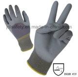 Gant de travail en nylon avec Knuckle Dipped PU (PN8009)