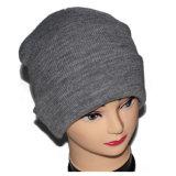 남자를 위한 주문 회색 겨울 모자 양털 베레모 모자