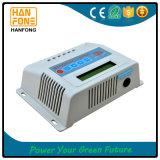 Contrôleur solaire de charge avec du ce RoHS de l'écran LCD 40A reconnu