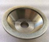 Meule de diamant de forme de cuvette pour des outils de carbure de tungstène