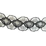 L'argento Handmade del Choker del merletto del Crochet dei monili di modo ha placcato