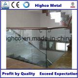 Balaustra di vetro del morsetto dell'acciaio inossidabile