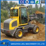 Mini Tractoren met de Lader 800kg die van het VoorEind de Chinese Lader van het Wiel laden