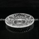 Kom & Plaat sx-013 van het Glas van het Kristal van de Diamant van 100% No-Lead Transparante