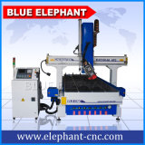 1330 Machine à fabriquer des meubles, 4 axes CNC Wood Boring Machine pour bois, meubles, aluminium