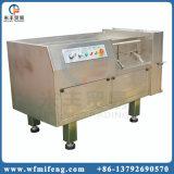 Cube en acier inoxydable de machine de découpe de viande de poulet