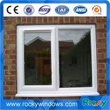 Thermisch gebrochenes doppeltes glasig-glänzendes Aluminiumflügelfenster-Fenster mit eingebautem Moskito-Netz