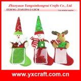 Комплект таблицы чулка рождества украшения рождества (ZY14Y374-1-2-3)