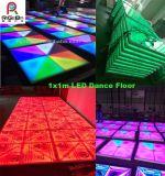 段階党ライトのためのカラーによって変更されるLEDのダンス・フロア(光線の形との1X1m)