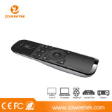 2.4G 텔레비젼, STB, DVD, 공기 Conditionner, 2 바탕 화면, PC, 휴대용 퍼스널 컴퓨터 etc.를 위한 무선 먼 키보드 공기 마우스 터치패드