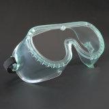 Gesloten PC Materiaal veiligheidsbril, Anti-Fog, stof en speeksel bescherming voor CH-G-11
