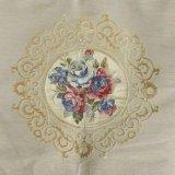 CF9290 Venta al por mayor de la fábrica de tejido de terciopelo bordado floral colorido