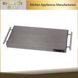 安息日のステンレス鋼のコードレス暖まる皿ES4001の1100W安全食糧暖まる版