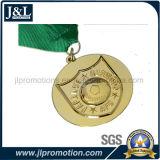 3D 디자인에 있는 주물 고품질 금속 메달을 정지하십시오