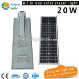 1つの20WセリウムのRoHSのリチウム鉄電池太陽ランプのすべて