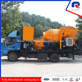 Camión diesel y eléctrico montado bomba de mezcla de hormigón (JBC40)
