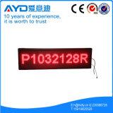 Piscina P10 LED Vermelho rolando a tela (P109632R)