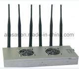 6CH 탁상용 고품질 이동할 수 있는 신호 방해기/무선 방해기 신호 차단제