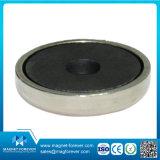 De permanente Ceramische Magnetische Haak van de Magneet van het Ferriet van de Schijf