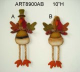 "25 ""H Holiday Decoration Harvest Long Legged Sitting Fox"