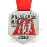 カスタム銀製亜鉛合金の体操のスポーツメダル卸売