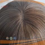 La tecnica umana bianca della pelle gradice la parrucca cascer ebrea dei capelli superiori del Virgin sviluppata capelli