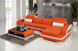 Sofà di cuoio sezionale di nuova figura moderna di U per il salone (HC1122)