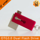 Изготовленный на заказ подарок OTG2.0/3.0 удваивает флэш-память USB мобильного телефона (YT-3204-03)